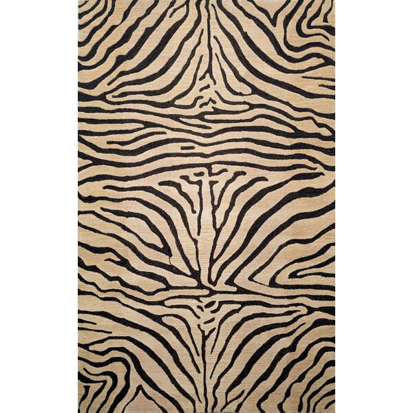 Bowdens Zebra Neutral Rug by World Menagerie