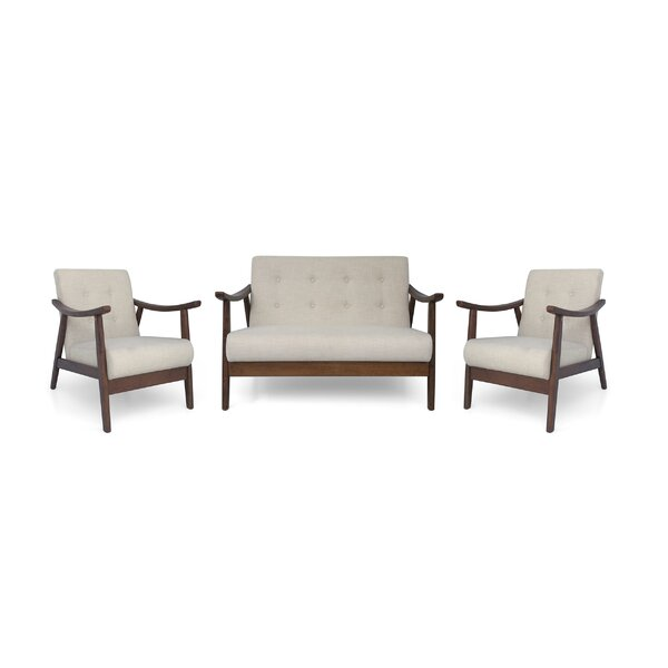 Bankhead 3 Piece Living Room Set By George Oliver