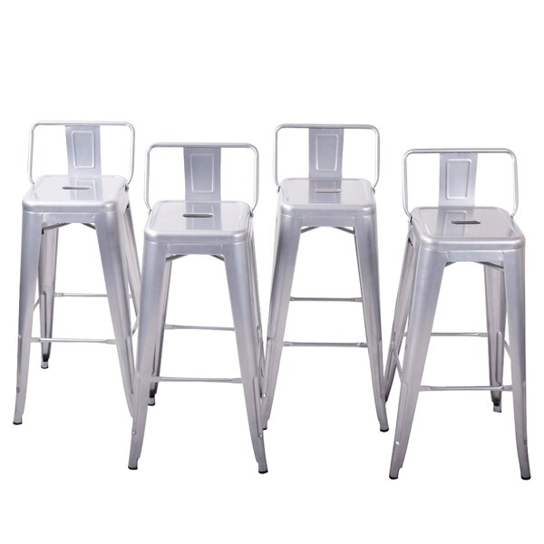 24 Bar Stools (Set of 4) by Belleze
