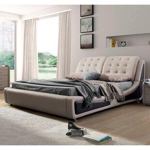 Best Reviews Bosworth Upholstered Platform Bed ByWade Logan