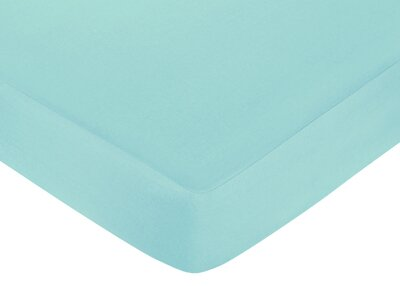 Zig Zag Solid Fitted Crib Sheet by Sweet Jojo Designs