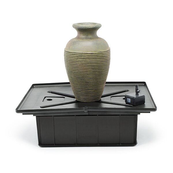 Fiberglass Amphora Slate Vase Fountain Kit by Aquascape