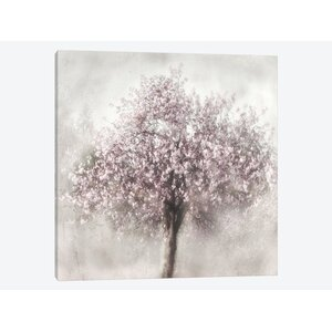Blossom of Spring II Painting Print on Wrapped Canvas by East Urban Home