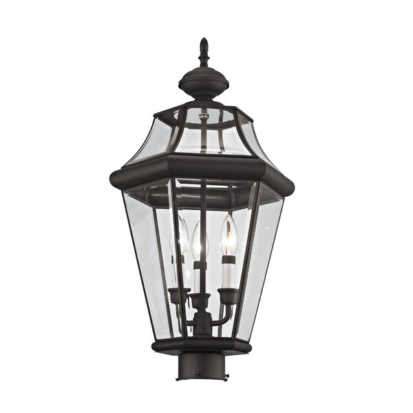 Creason Outdoor 3-Light Lantern Head by Darby Home Co