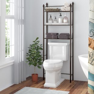 """Boatner 24.6"""" W x 64.9"""" H Over the Toilet Storage"""