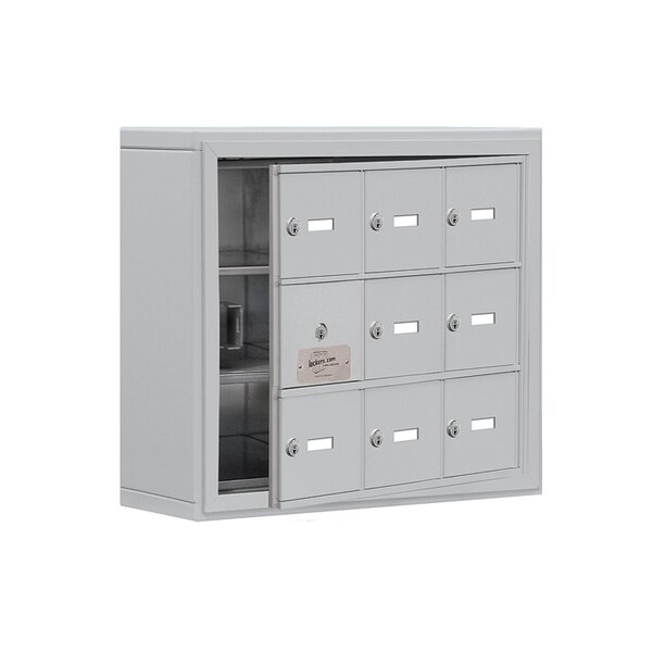 3 Tier 3 Wide EmpLoyee Locker by Salsbury Industries