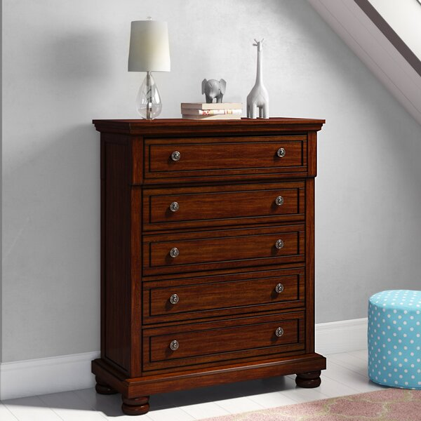 Barossa 5 Drawers Standard Dresser/Chest by Darby Home Co
