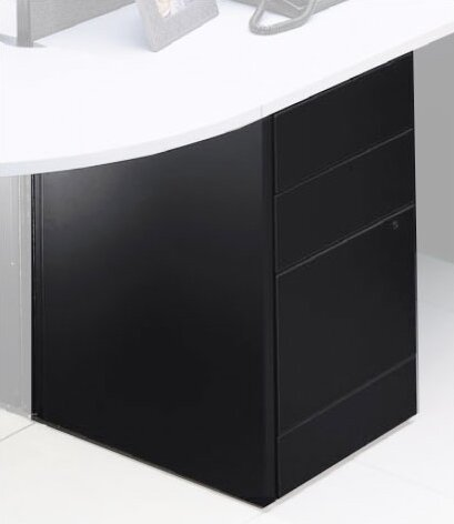 Adaptabilities 3-Drawer Freestanding File Pedestal by Global Total Office