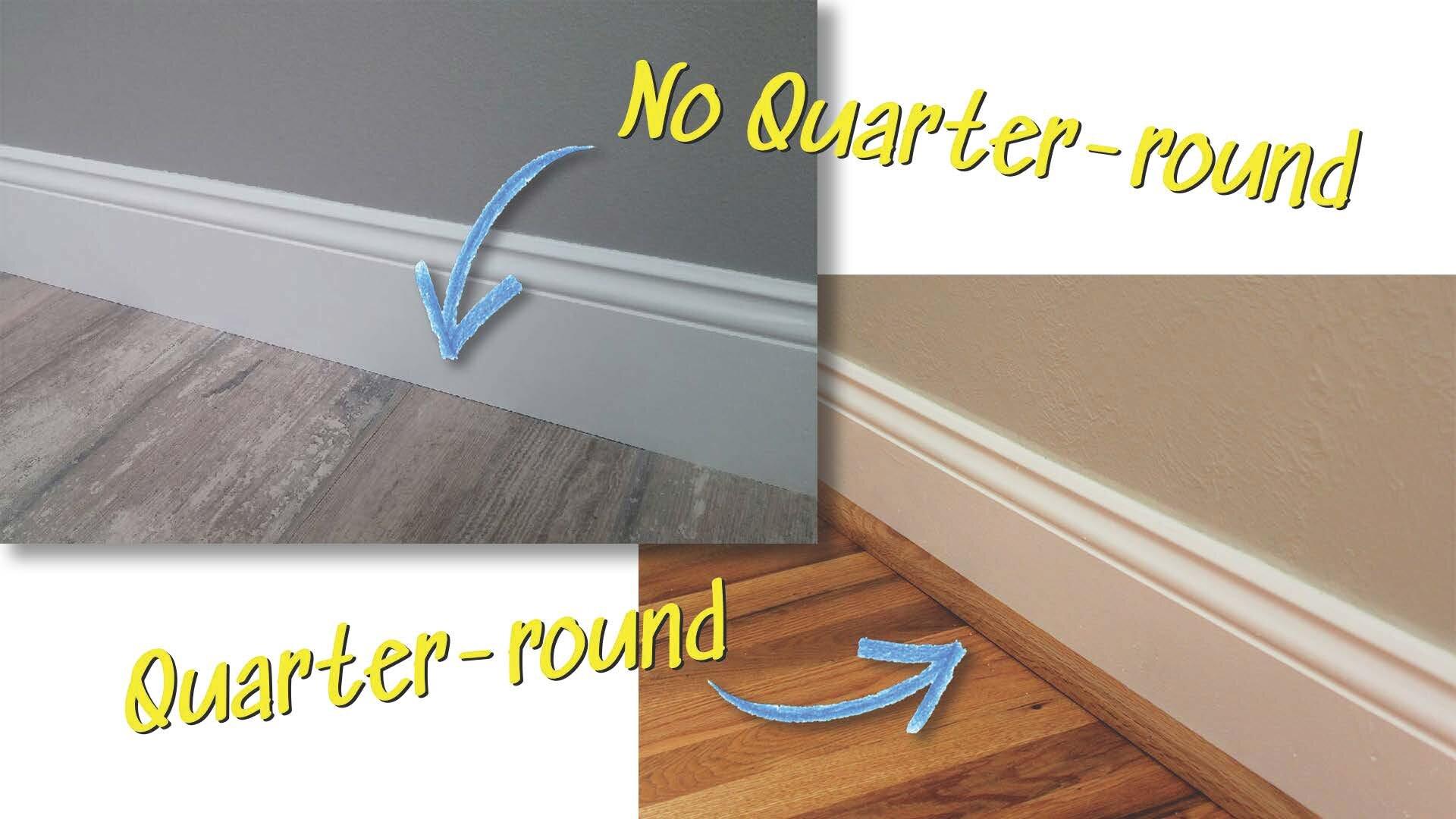 Harris Hardwood Flooring 0 37 X 6 5 Oak Quarter Round Wayfair