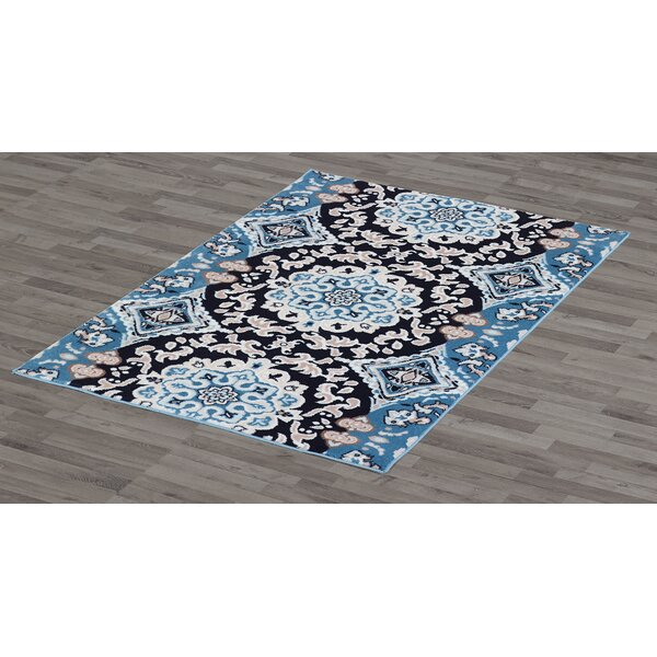 Montclair Blue Area Rug by Charlton Home