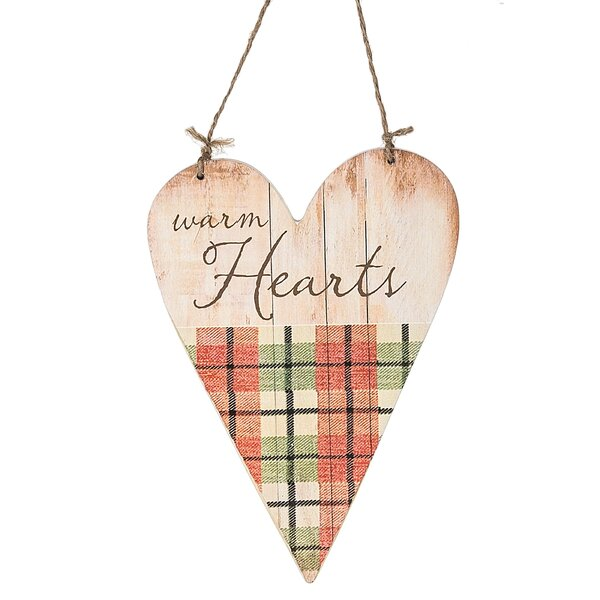 Warm Hearts Hanging Figurine by August Grove