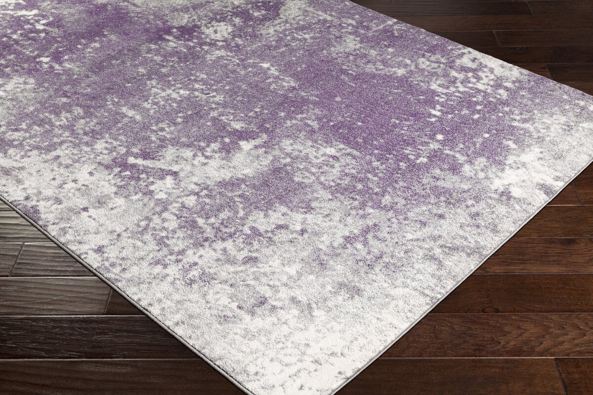 Purple Floor Rug Rugs Ideas