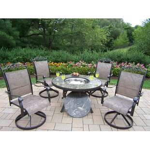 Stone Art 5 Piece Conversation Set By Oakland Living