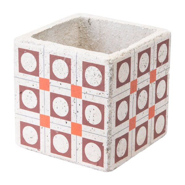 Ruiz Squares Ceramic Pot Planter by Wrought Studio