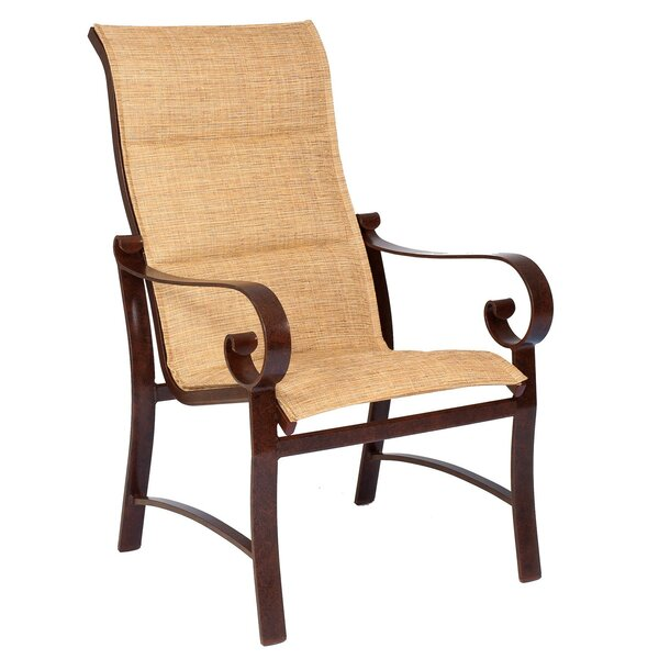 Belden High Back Patio Dining Chair (Set of 2) by Woodard