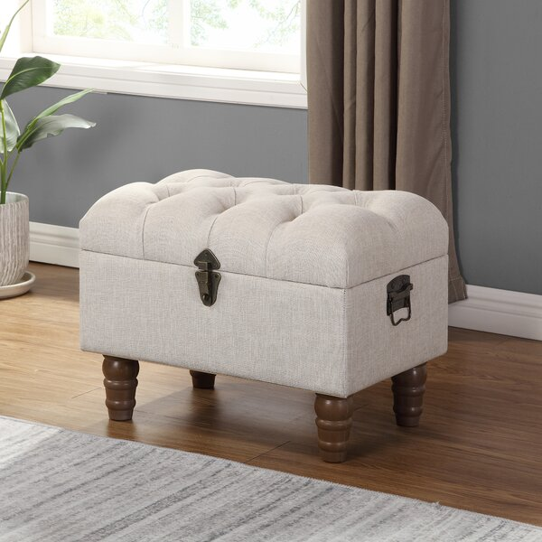 Engleman Tufted Storage Ottoman by Gracie Oaks