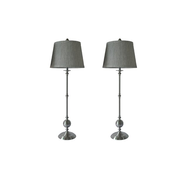 Claremont Buffet 37 Table Lamp (Set of 2) by Alcott Hill
