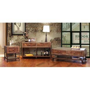 Buy clear Pruett Urban Coffee Table with Storage By Loon Peak