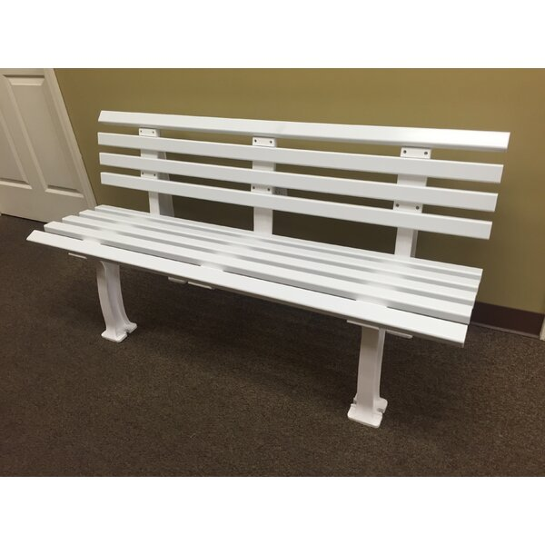 Courtside Plastic Park Bench By Putterman Athletics