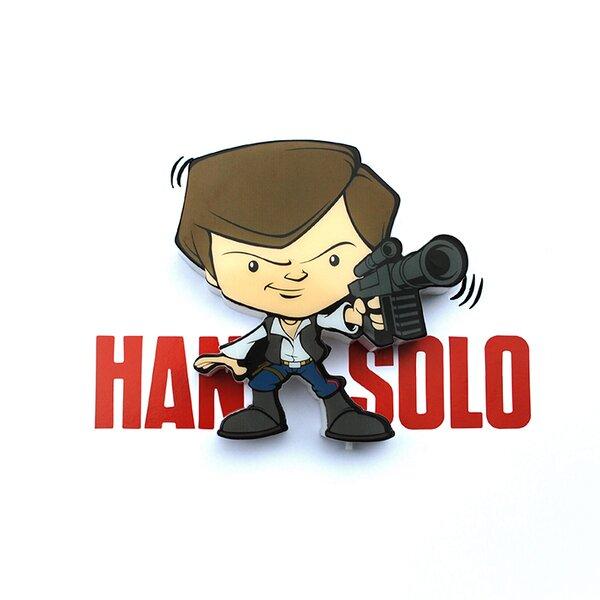 3D Han Solo Mini Deco 2-Light Night Light by 3D Light FX