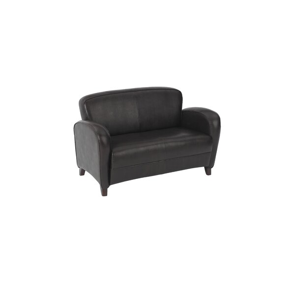 OSP Furniture Embrace Eco Leather Loveseat By OSP Furniture