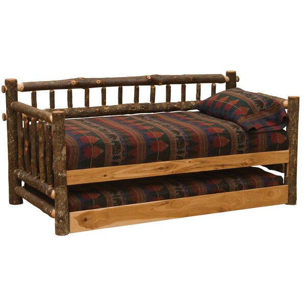 Hickory Twin Daybed With Trundle By Fireside Lodge