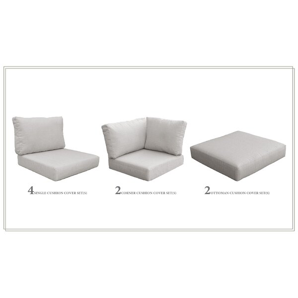 High Back Indoor/Outdoor Replacement Cushion Set by Red Barrel Studio Red Barrel Studio