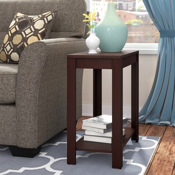 Sams End Table With Storage By Winston Porter