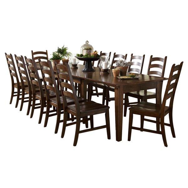 Basilio 13 Piece Extendable Solid Wood Dining Set by Birch Lane Heritage Birch Lane™ Heritage
