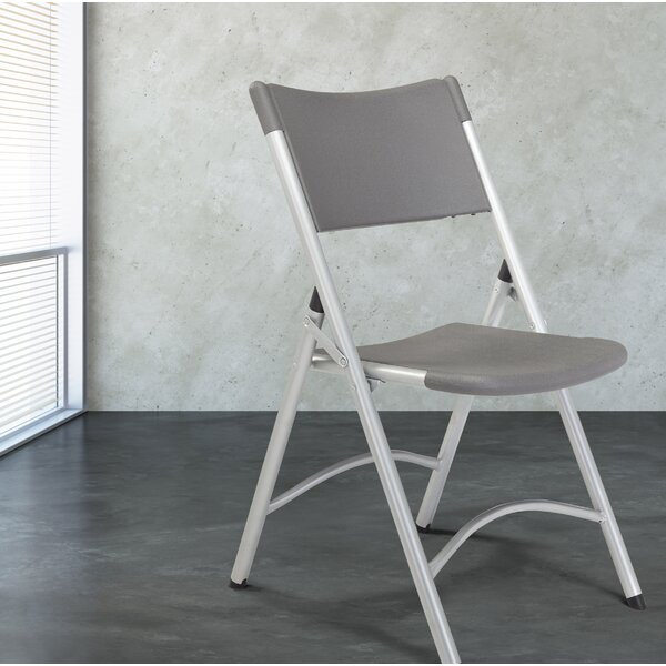 NPS® 600 Series Plastic Folding Chair (Set of 4) by National Public Seating