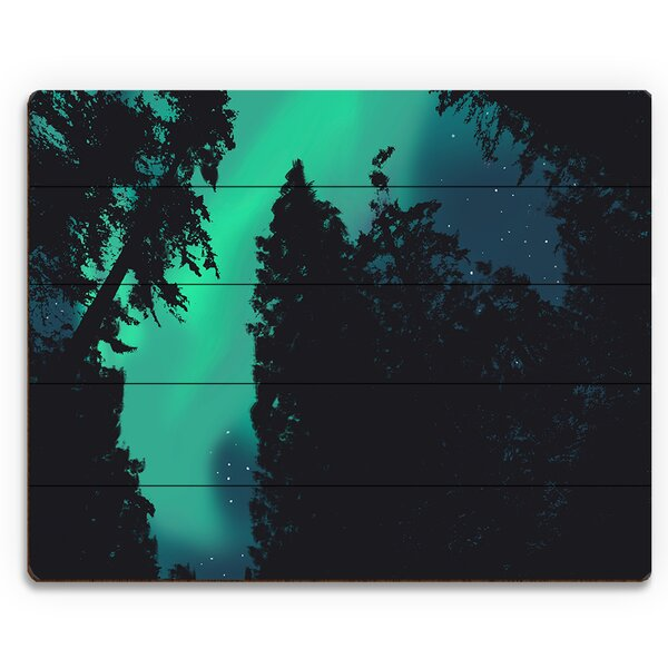 Northern Lights Main Photographic Print on Plaque by Click Wall Art