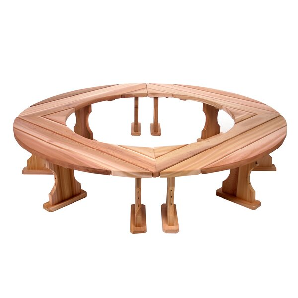Ardoin Round Wood Tree Bench by Union Rustic Union Rustic