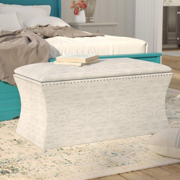 Pegasi Upholstered Storage Bench by Lark Manor