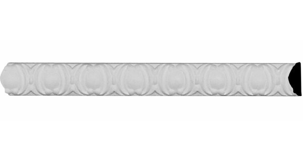 Egg and Dart 7/8 H x 96 W x 3/8 D Panel Molding by Ekena Millwork