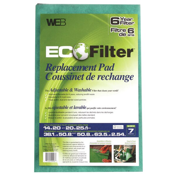 Eco Filter Replacement Pad by WEB Products