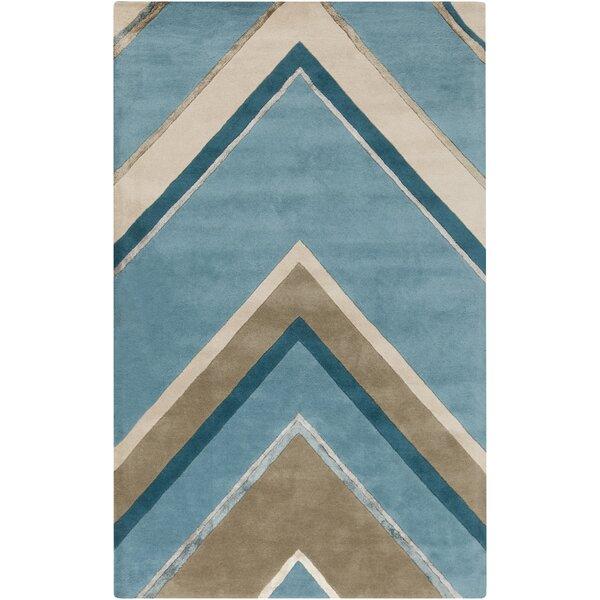Modern Classics Handmade Blue Area Rug by Candice Olson Rugs