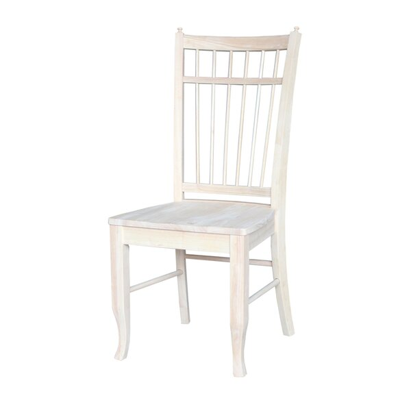 Montura Solid Wood Dining Chair (Set of 2) by Beachcrest Home Beachcrest Home