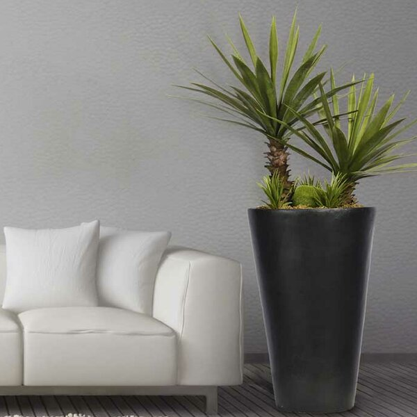 Agave Floor Foliage Tree in Planter by Bayou Breeze