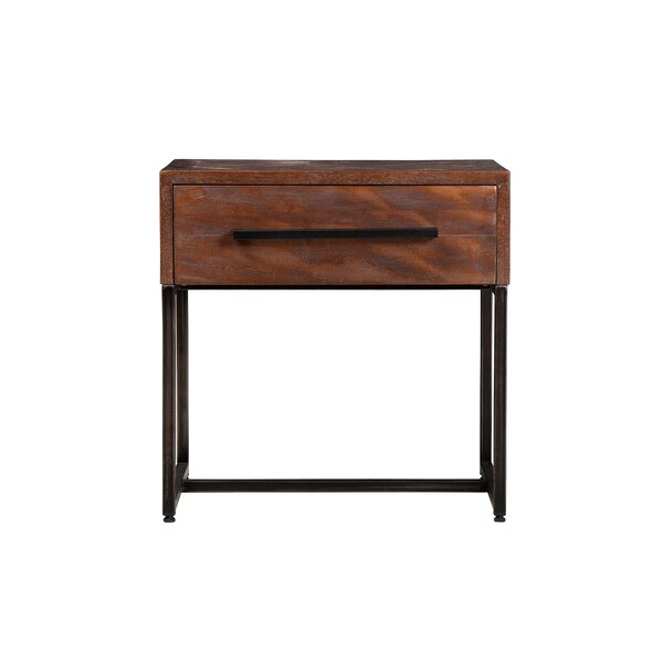 Livinia 1 Drawer Nightstand by Union Rustic