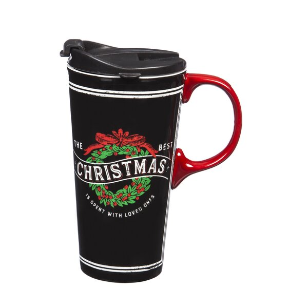Paloma Christmas with Loved Ones Travel Mug by The Holiday Aisle