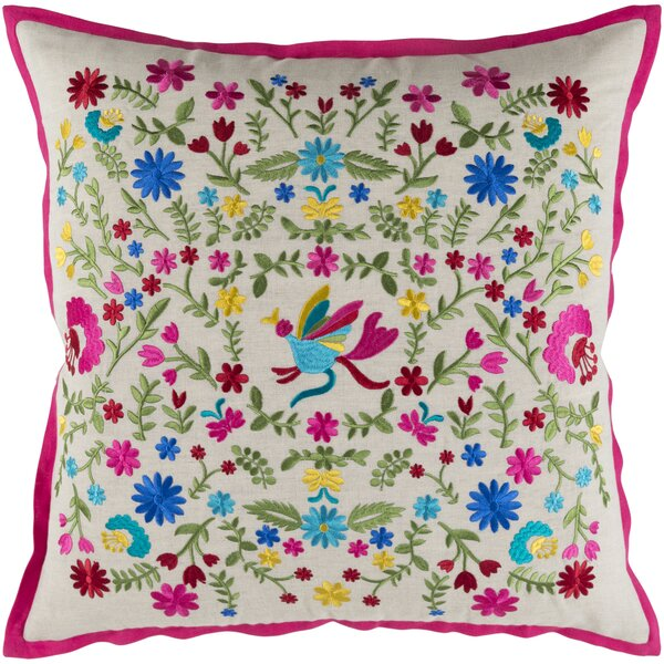 Cayson Throw Pillow by Bungalow Rose