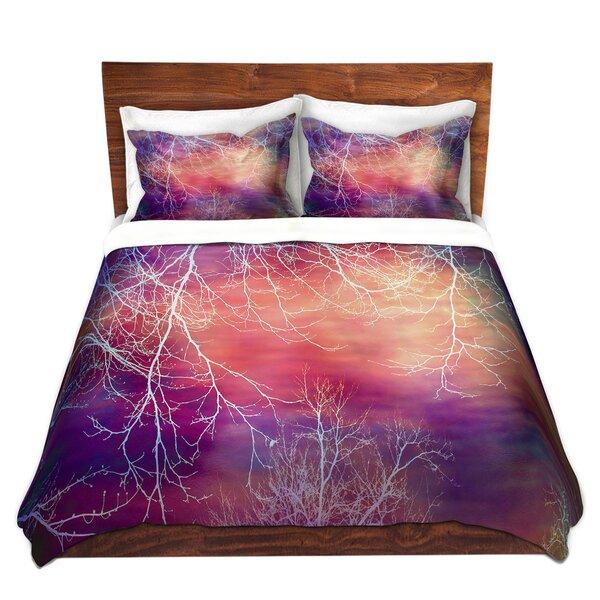 Night Time Trees I Duvet Cover Set