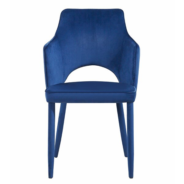 Modern Hartwig Upholstered Dining Chair By Mercer41 Discount