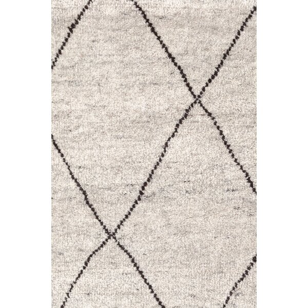 Hand-Knotted Gray Area Rug by Dash and Albert Rugs