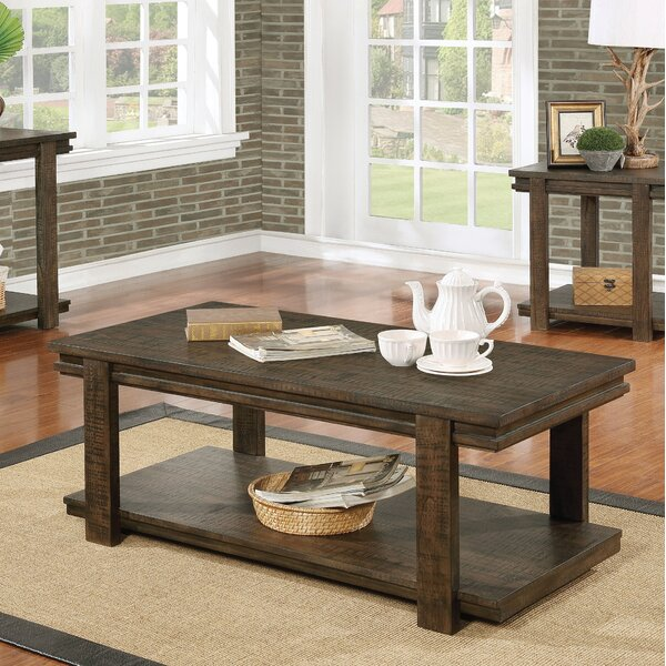 Stackhouse Rustic Coffee Table by Millwood Pines