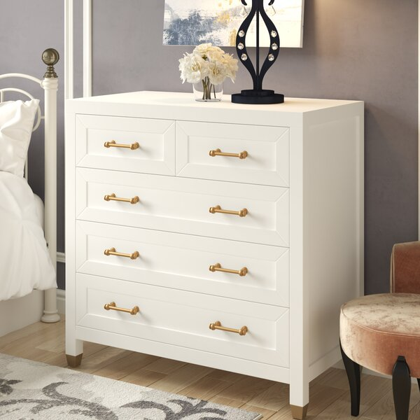 Skelmersdale 5 Drawer Chest by Everly Quinn