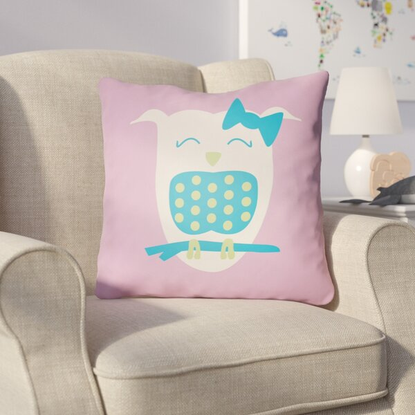 Colinda Owl Throw Pillow by Harriet Bee