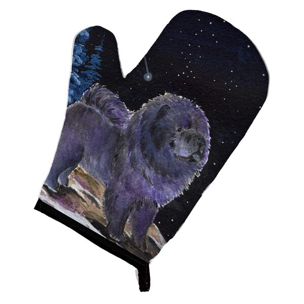 Starry Night Chow Chow Oven Mitt by Caroline's Treasures