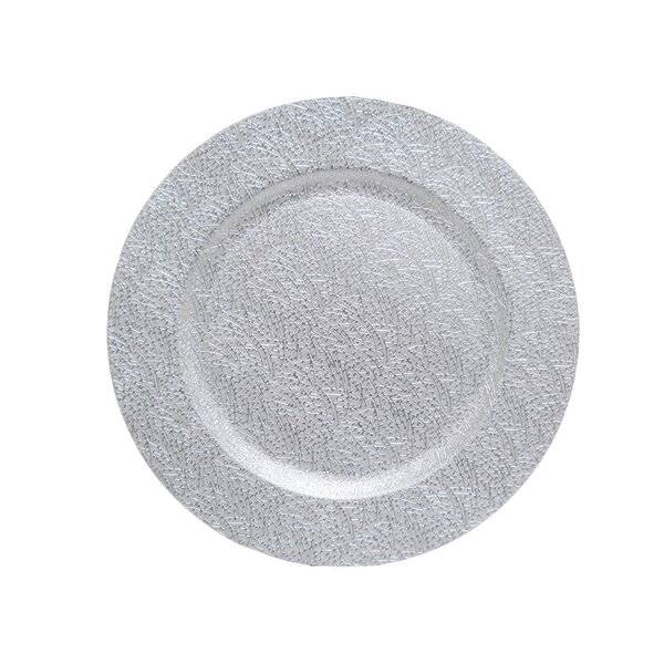 Bushley 13 Charger Plate (Set of 24) by Ophelia & Co.