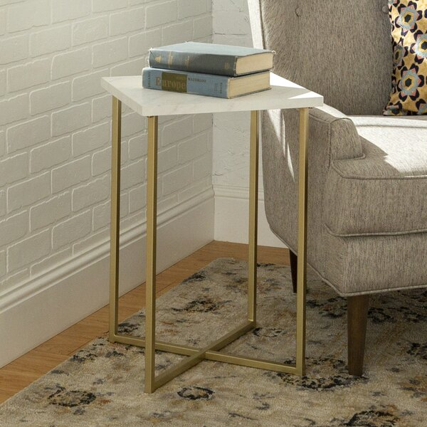 Dominique Square End Table By Modern Rustic Interiors 2019 Sale